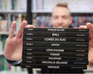 Quelque chose de, édition nanika, librairie Ariane